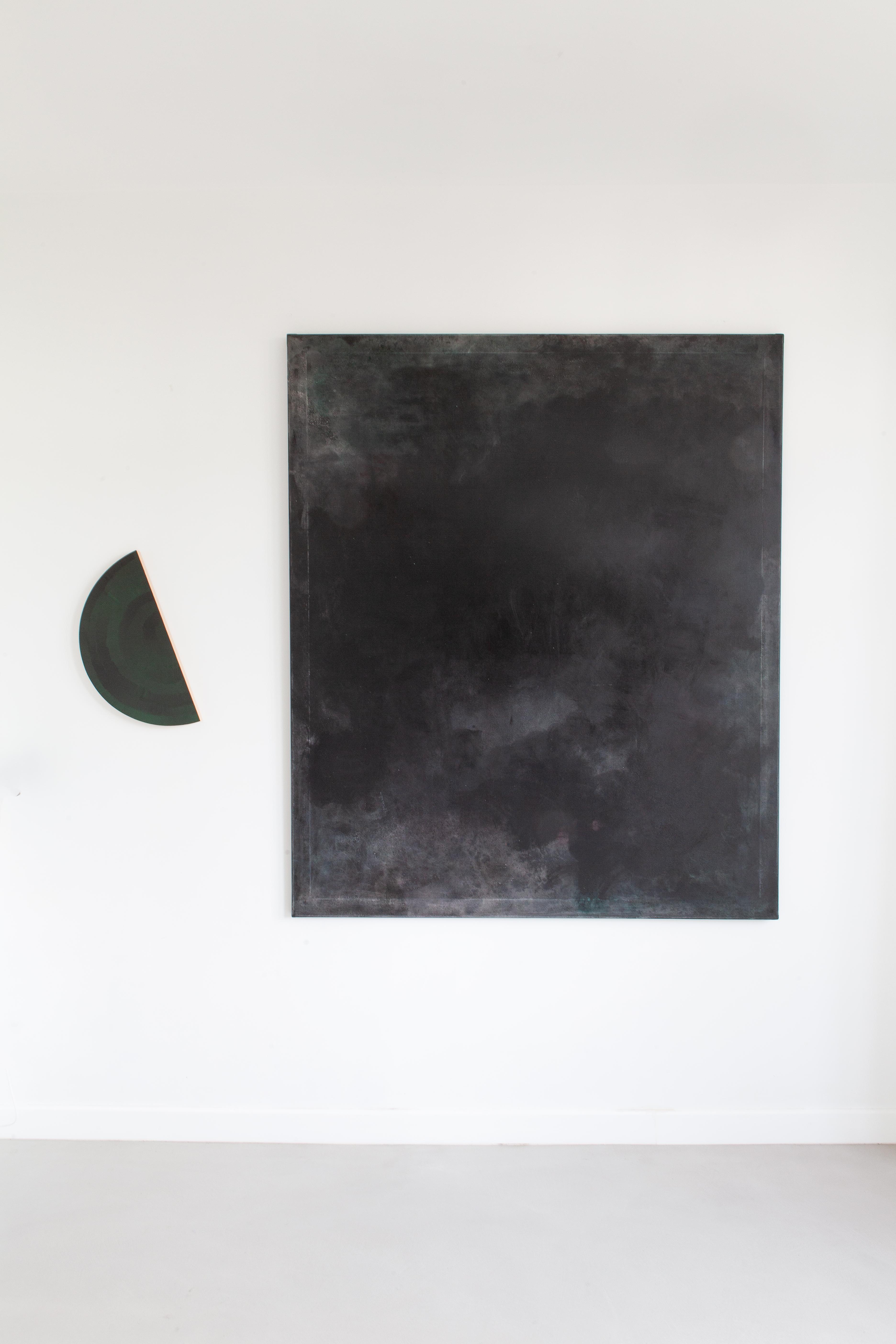 Schilderij Balaton Black