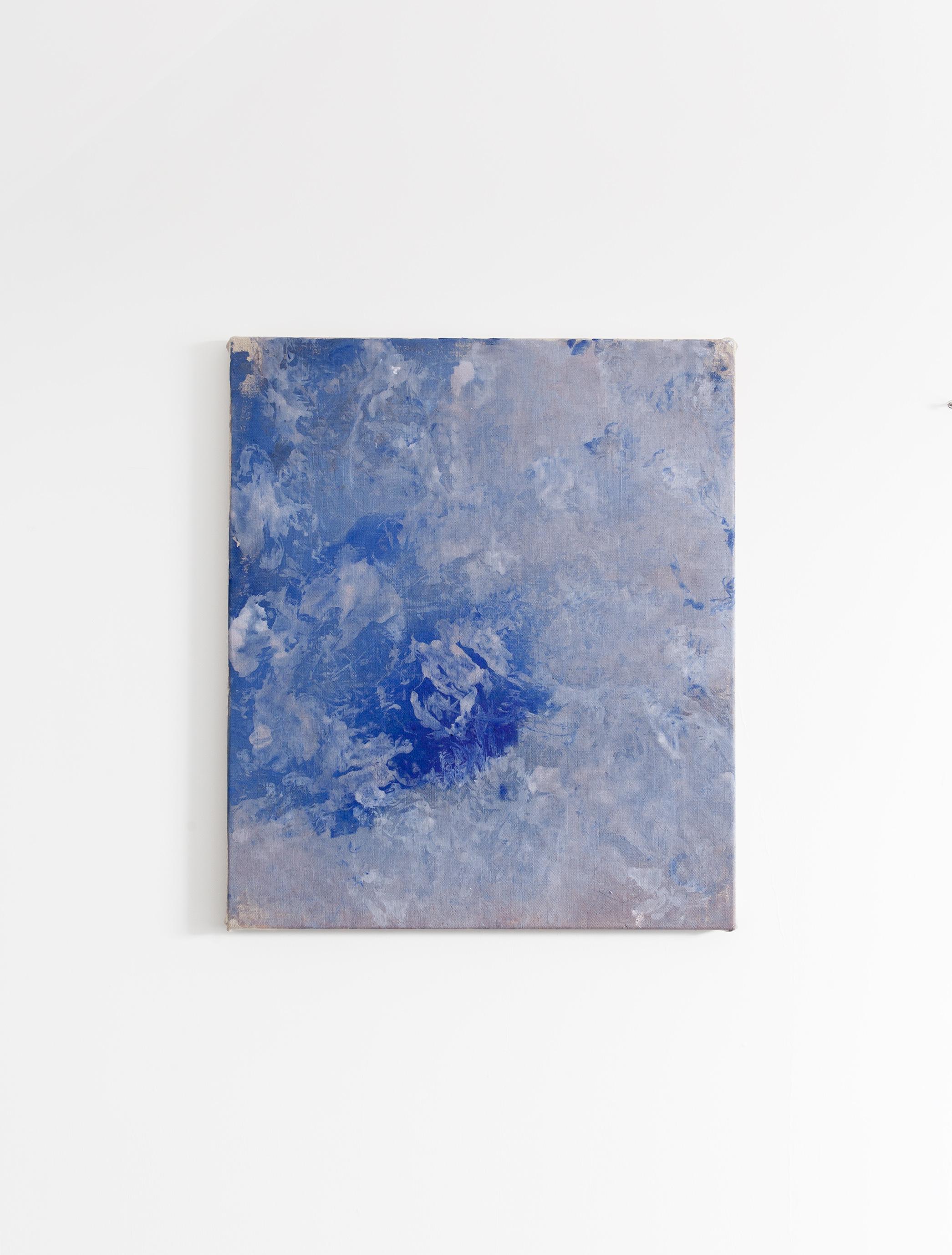 Schilderij Blue Island