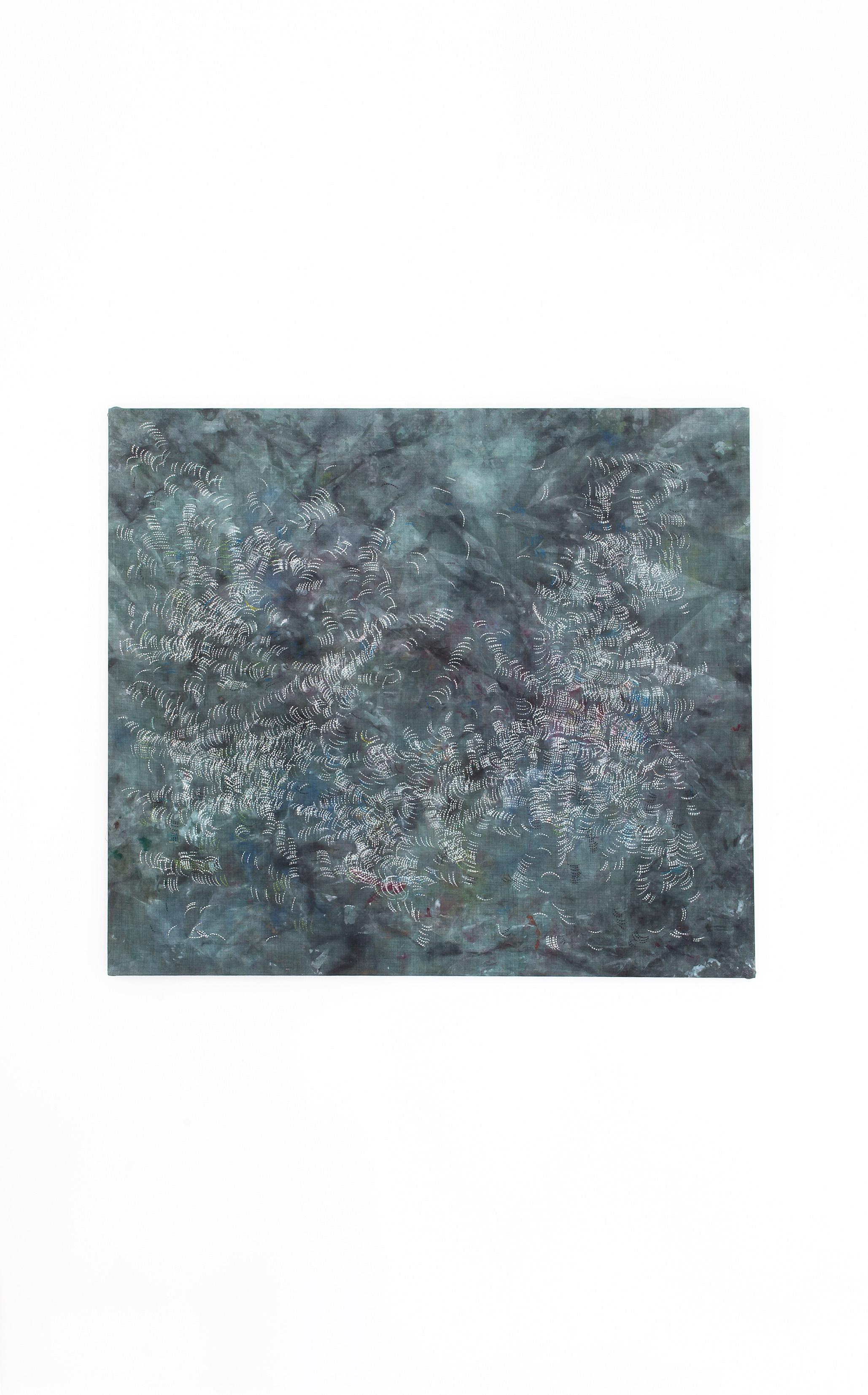 Schilderij Coco Turquoise